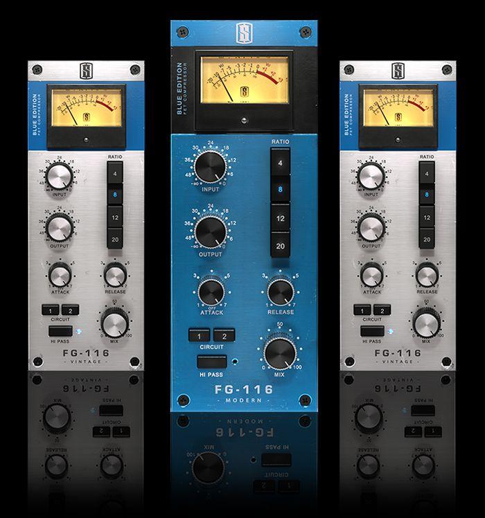 FG-116 Blue Series FET Compressors - SlateDigital