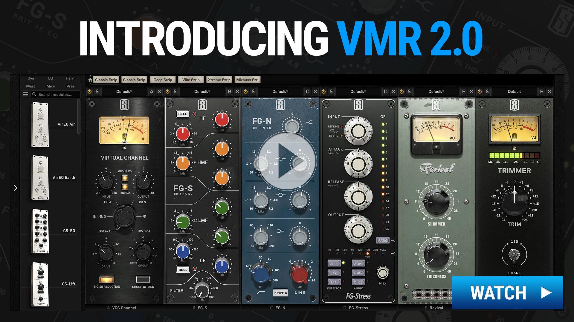 VMR 2 0 - MIX BUNDLE ONE | Slate Digital