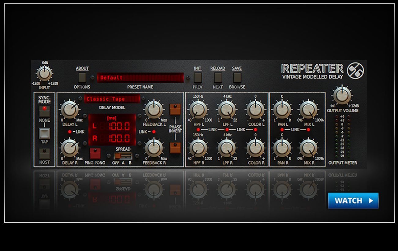 Repeater Delay - SlateDigital