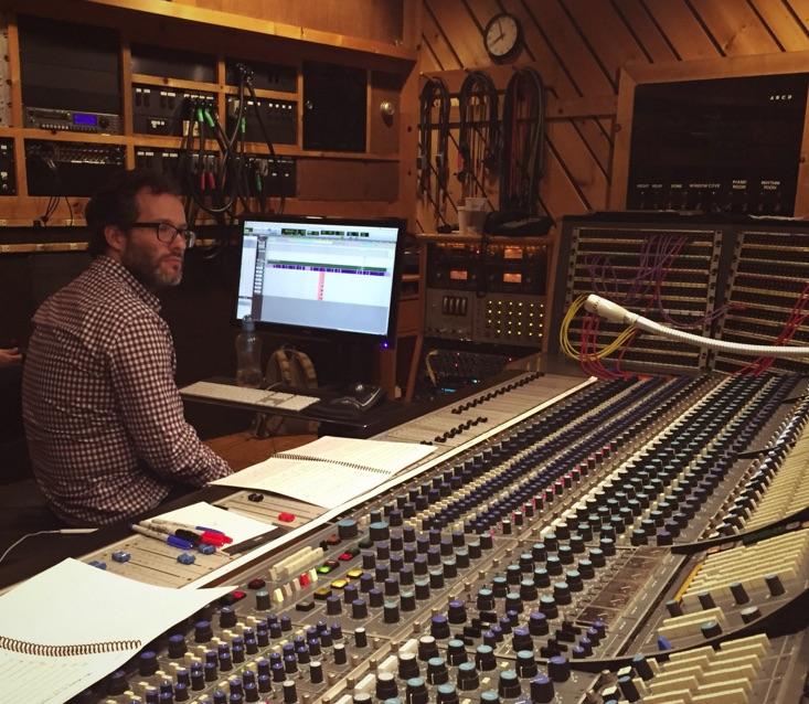 Audio Engineer Alex Venguer in The Studio